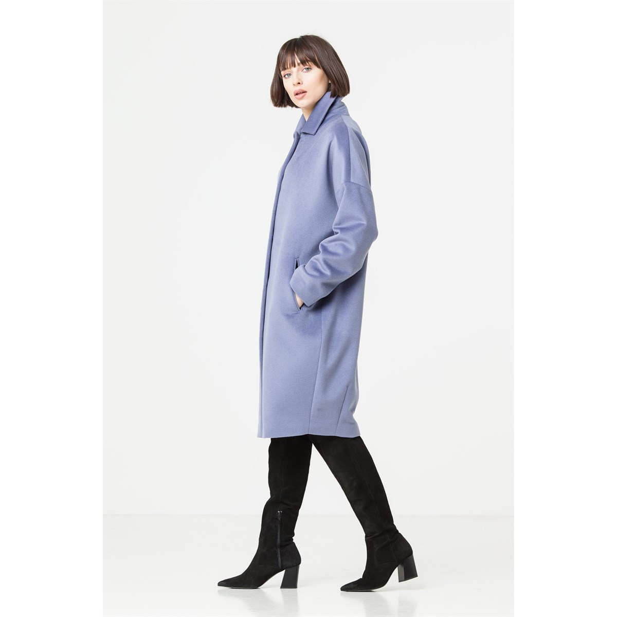 Cocoon Italian Wool Coat
