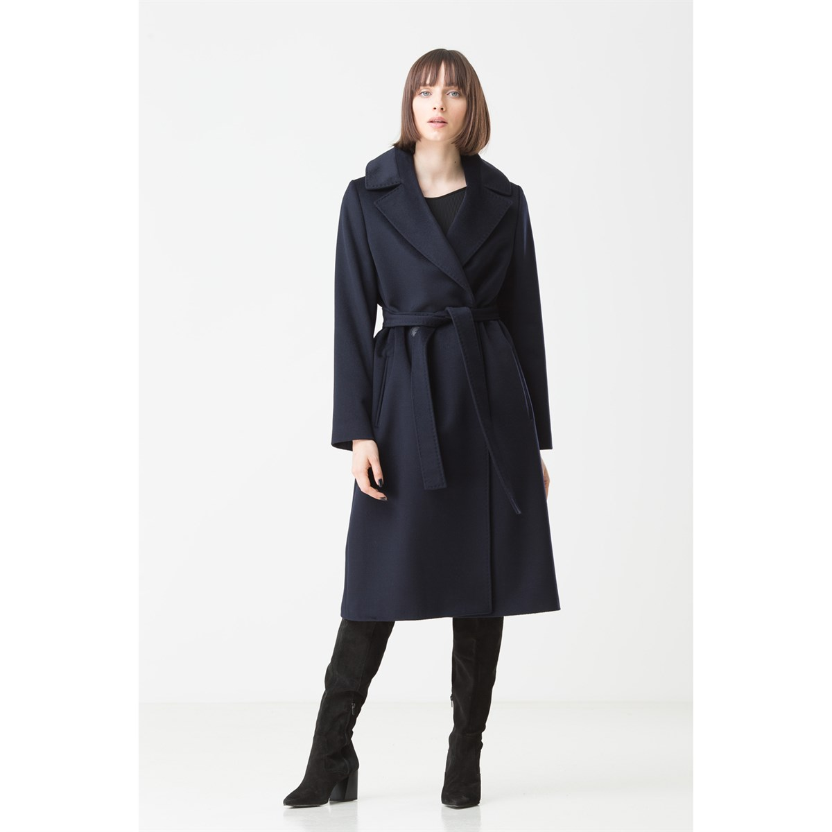 Soft-touch Italian Wool Coat