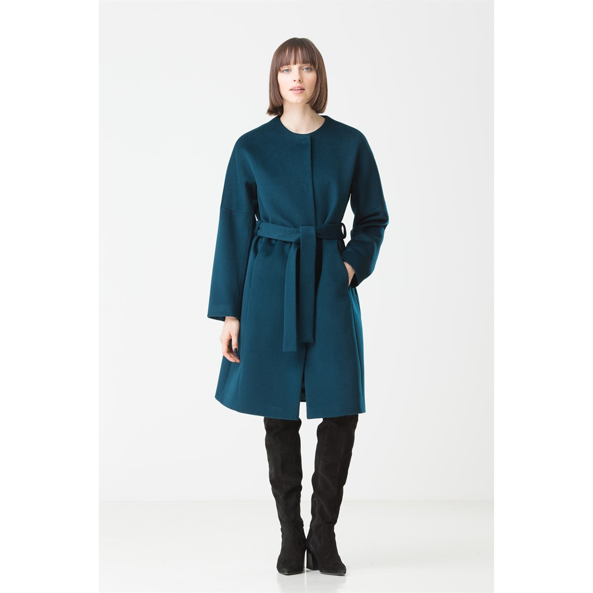 Light Italian Wool Coat